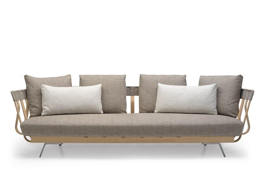 3 seater fabric sofa E LA NAVE VA SOFA - 02B by Alias
