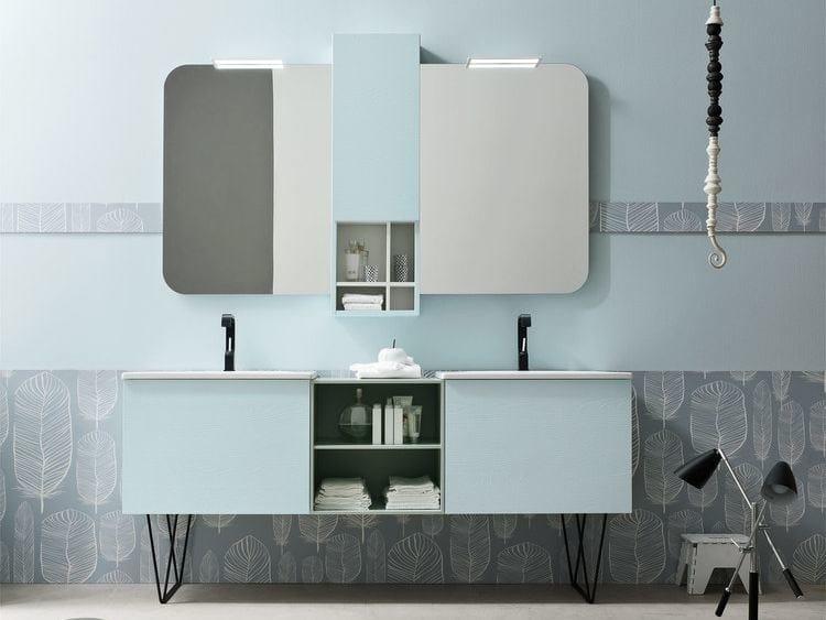 Sistema bagno componibile E.LY - COMPOSIZIONE 59 by Arcom