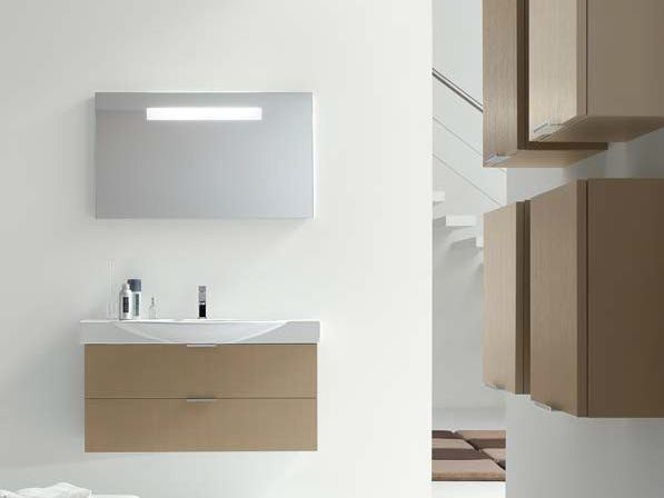 Single ash vanity unit E.LY - COMPOSITION 8 by Arcom