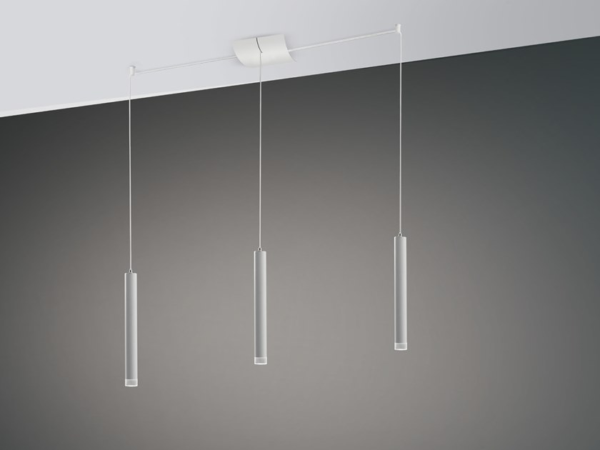 LED pendant lamp / portable flashlight E.R. by Cattaneo