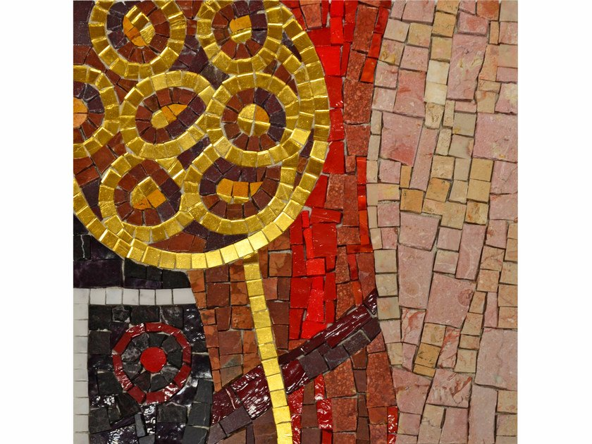 Marble mosaic E1 by FRIUL MOSAIC
