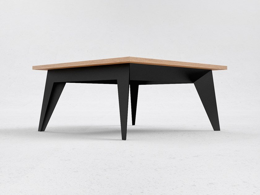 Square coffee table E15 by ODESD2
