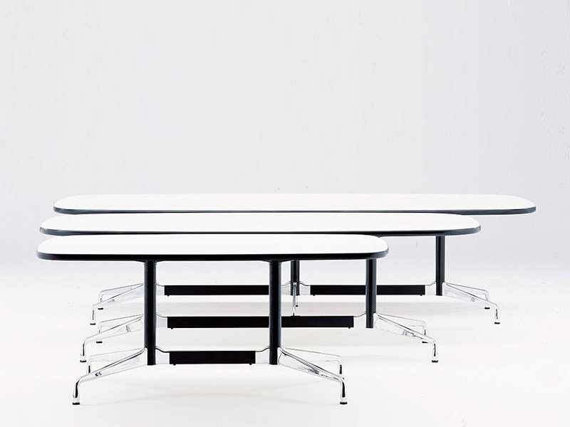 EAMES TABLES Oval Meeting Table By Vitra Design Charles Eames - Eames oval conference table