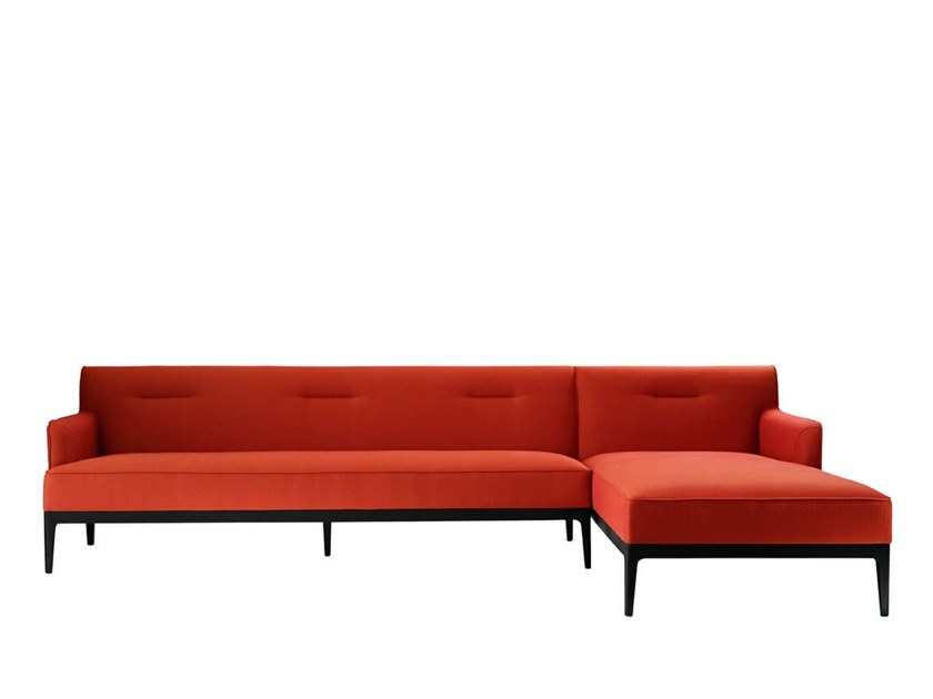 Sectional sofa with chaise longue EARL   Sectional sofa by HC28