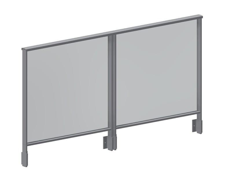 Parapetto in alluminio per finestre e balconi EASY ALU by Q-RAILING ITALIA