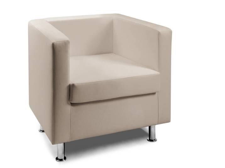 Fabric easy chair with armrests DAKOTA | Easy chair by AP Factor