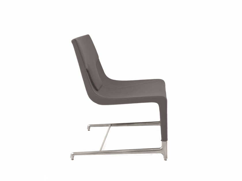Cantilever fabric easy chair ELLE SOFA | Easy chair by Emmegi