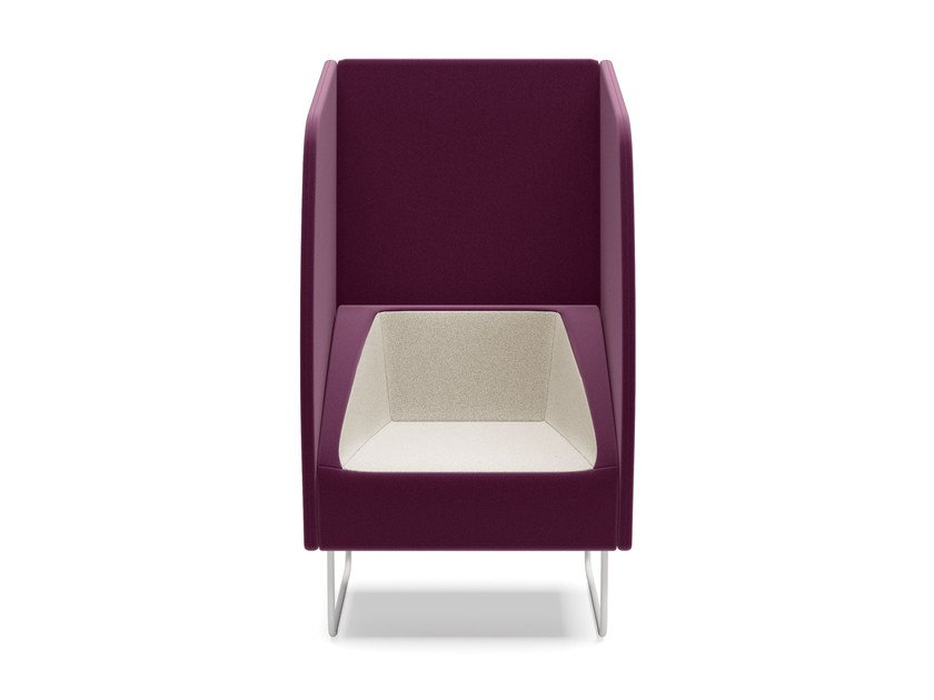Easy chair high-back ITACA ACOUSTIC | Easy chair high-back by Arte & D