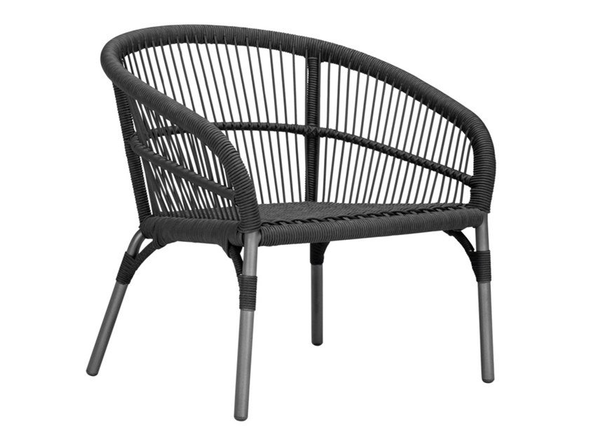 Garden polypropylene easy chair with armrests NEXUS | Easy chair by JANUS et Cie