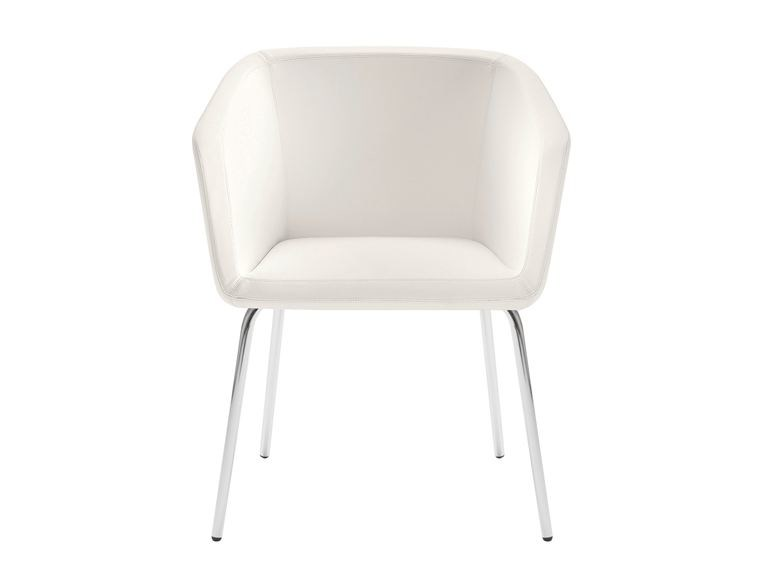Upholstered Leather Chair With Armrests MEG | Upholstered Chair By NARBUTAS Pictures