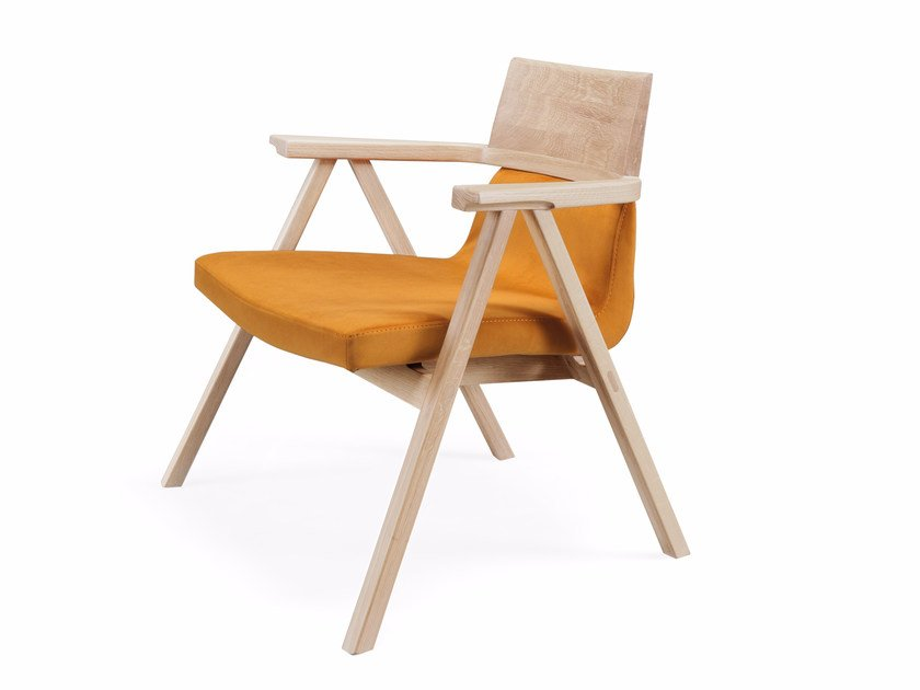 Easy chair with armrests PENSIL   Easy chair by Wewood