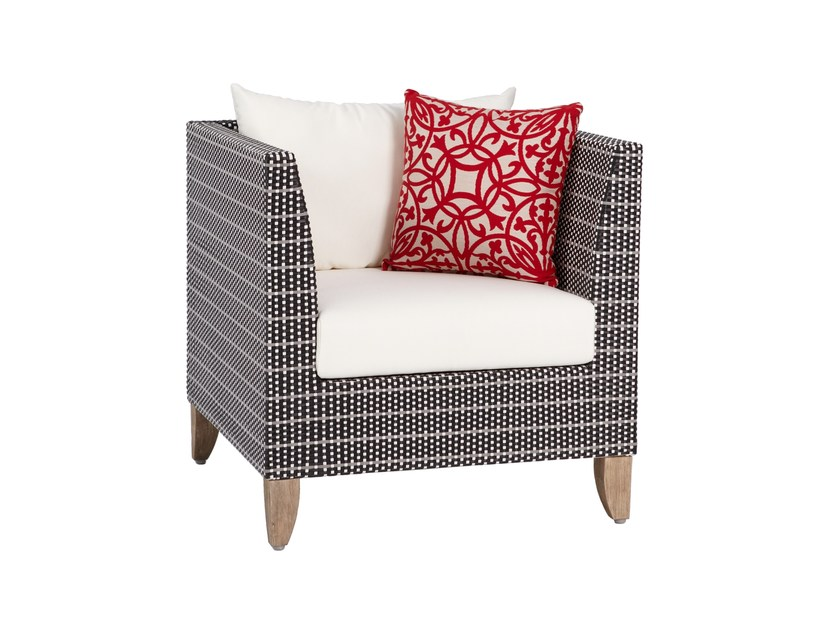 Guest chair PRAGUE | Garden armchair by 7OCEANS DESIGNS