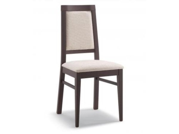 Upholstered fabric chair EASY by Cizeta L'Abbate