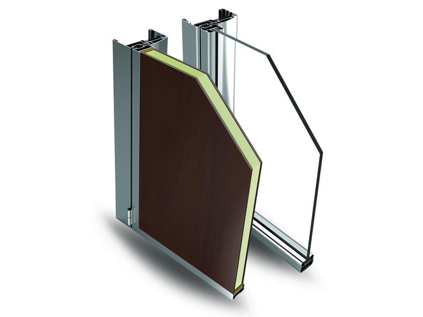Glass and aluminium door EASY DOOR by Fresia Alluminio