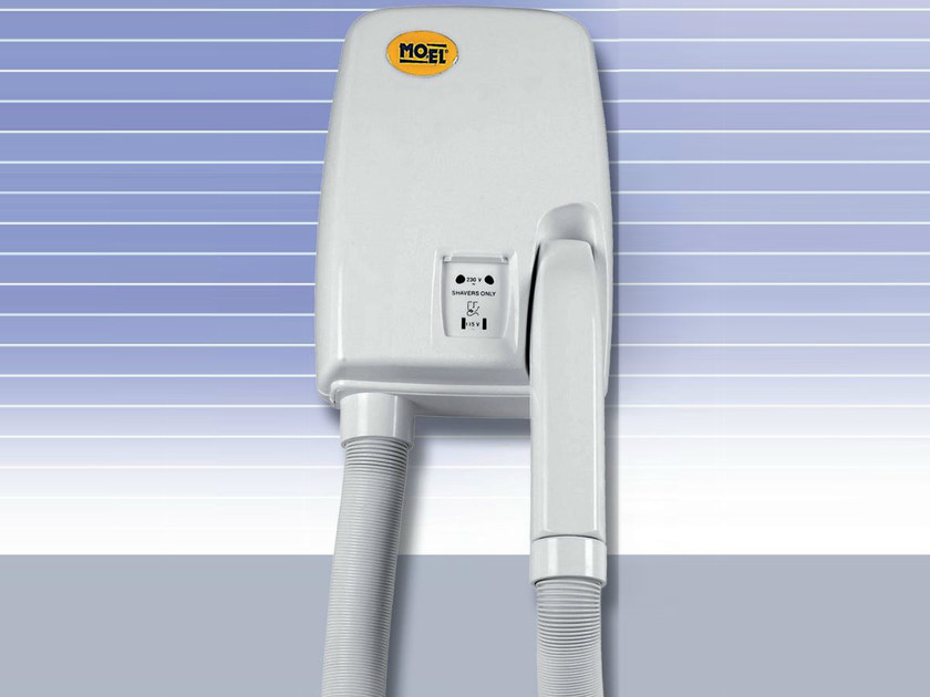 Electrical hairdryer for hotels EASY DRYER by Mo-el