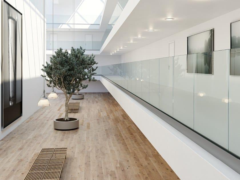 Glass balustrade EASY GLASS® SMART by Q-RAILING ITALIA