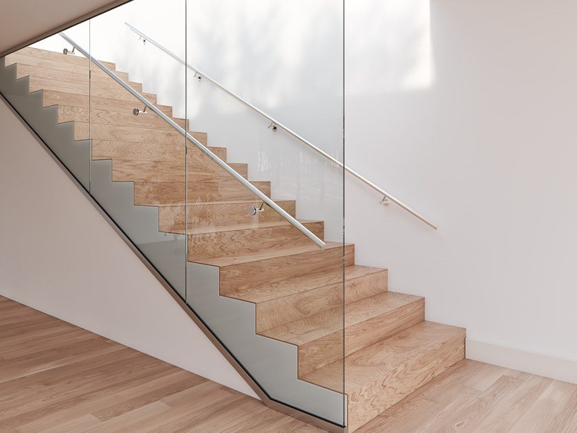 Glass balustrade EASY GLASS® WALL by Q-RAILING ITALIA