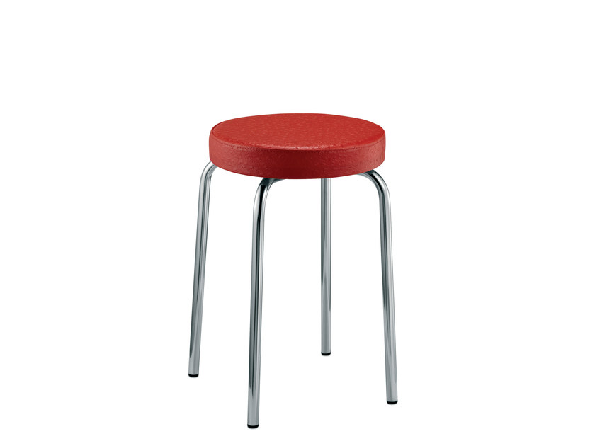 Low upholstered stool EASY | Low stool by Mara
