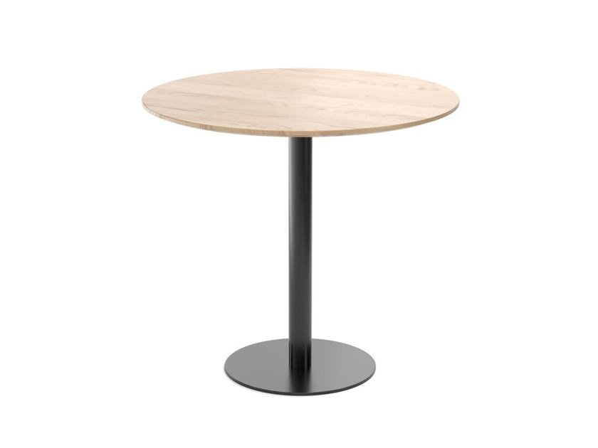 Round wooden table EASY MIX & FIX 628 by TON
