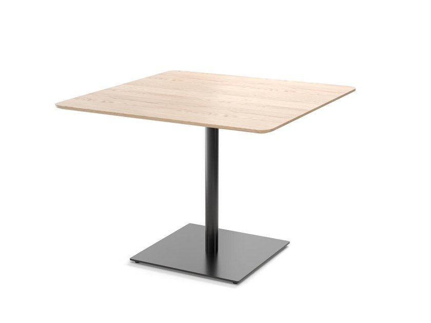 Square wooden table EASY MIX & FIX 634 by TON