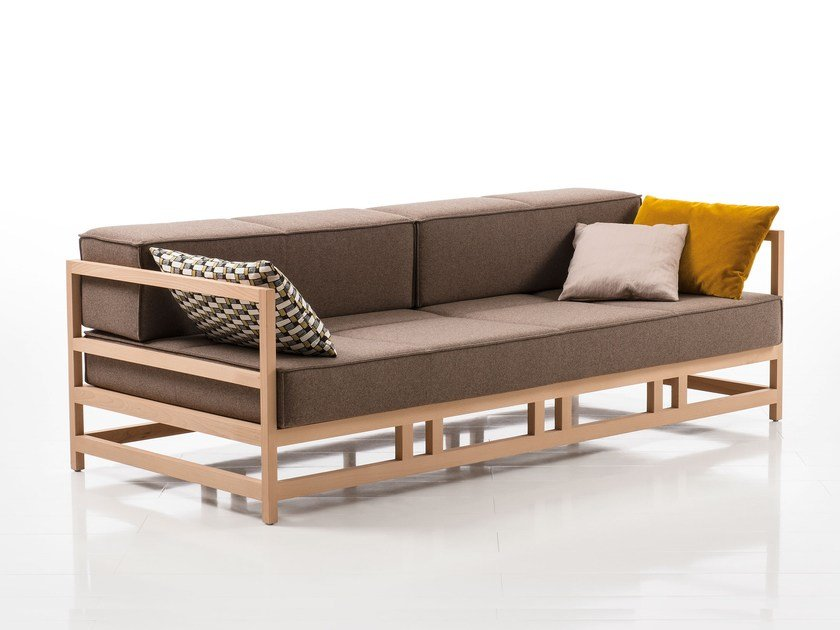 Fabric garden sofa EASY PIECES   Fabric by brühl
