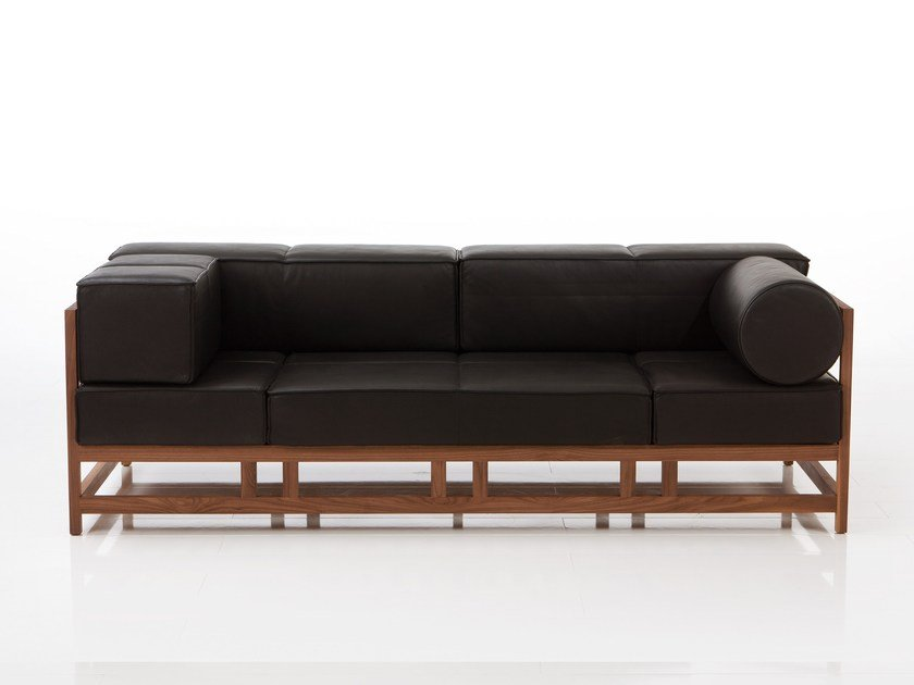 Leather sofa EASY PIECES | Leather sofa by brühl