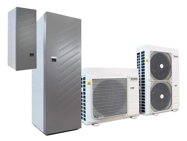 Air to water Heat pump EASY PUMP by REHAU