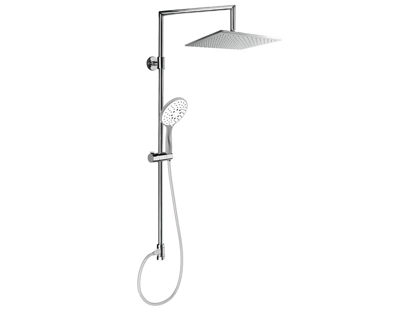 Wall-mounted shower panel with overhead shower EASY SHOWERS - 1421376 by Fir Italia