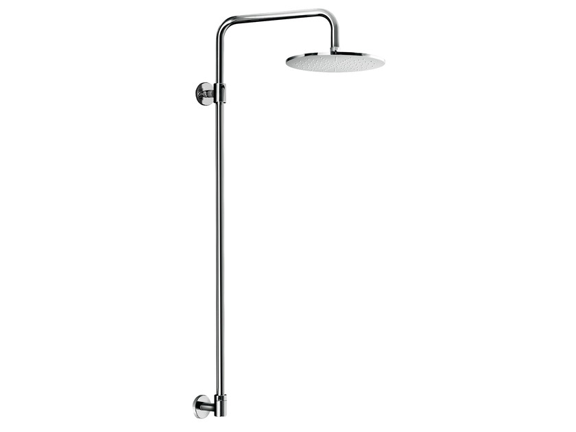 Wall-mounted shower panel with overhead shower EASY SHOWERS - 1446100 by Fir Italia