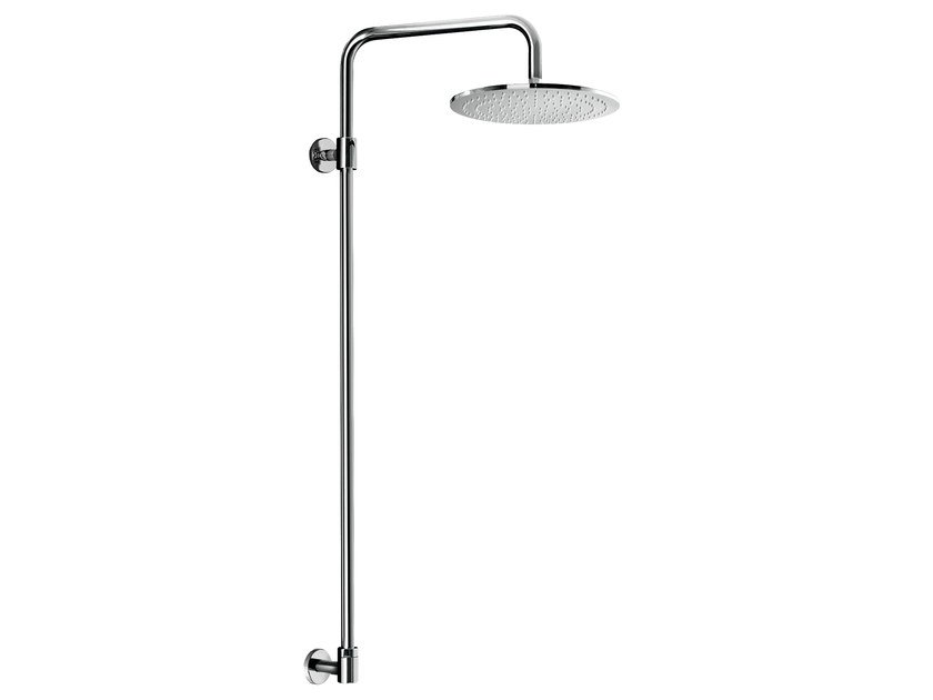 Wall-mounted shower panel with overhead shower EASY SHOWERS - 1446120 by Fir Italia