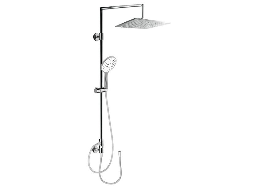 Wall-mounted shower panel with hand shower EASY SHOWERS - 1451376 by Fir Italia