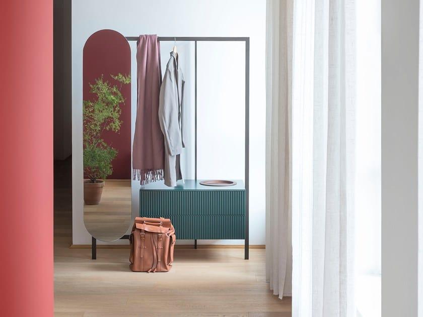 Sectional hallway unit EASY SYSTEM | Hallway unit by Novamobili