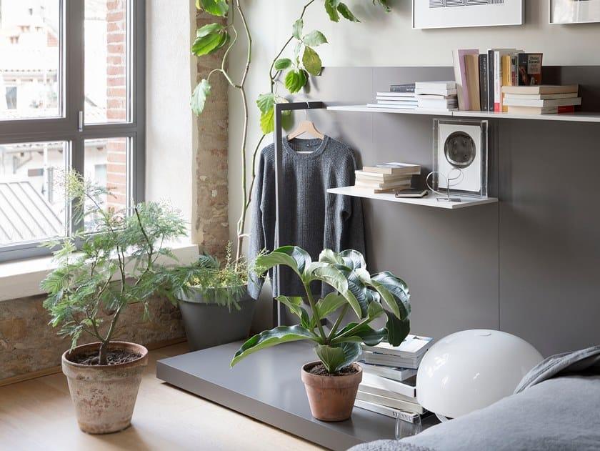 Wall shelf EASY SYSTEM | Wall shelf by Novamobili