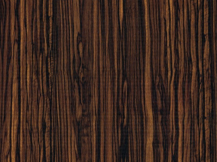 PVC furniture foil with wood effect EBONY MACASSAR OPAQUE by Artesive