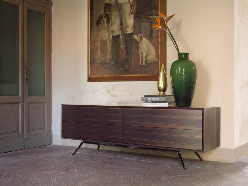 Sideboard with drawers QUARANTACINQUE | Ebony sideboard by Capo d'Opera