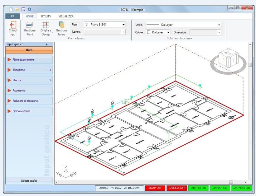 Plant maintenance and management EC741_EC745 Reti gas - UNI 7129 e 11528 by EDILCLIMA