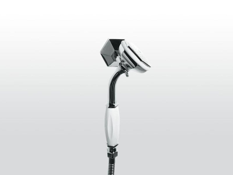Wall-mounted handshower with hose with bracket ECCELSA 304 by RUBINETTERIE STELLA