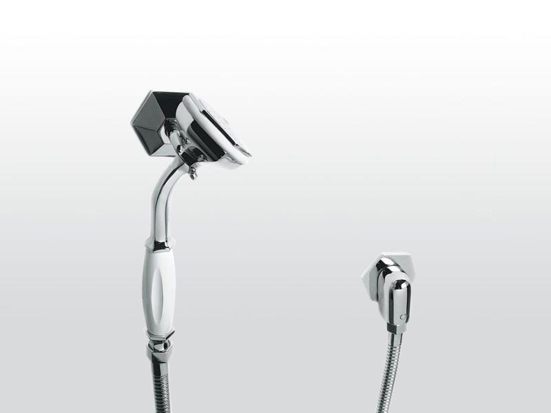 Wall-mounted handshower with hose with bracket ECCELSA 304A by RUBINETTERIE STELLA