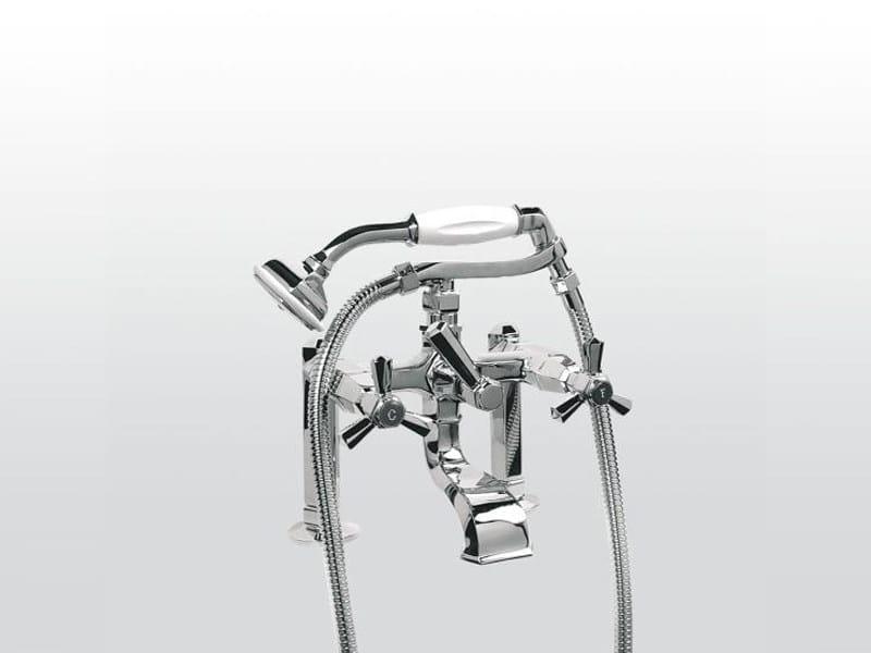 Classic style 2 hole bathtub tap ECCELSA 3274RG306FB by RUBINETTERIE STELLA