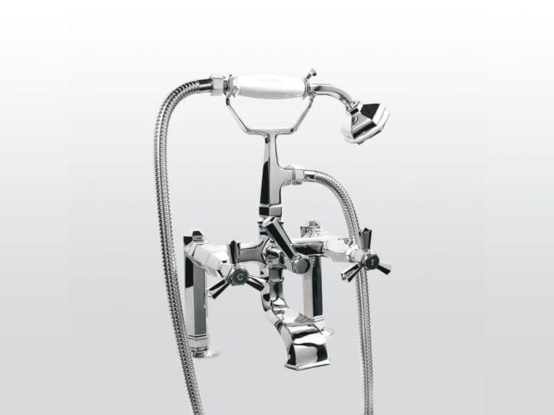 Classic style 2 hole bathtub tap ECCELSA 3274RG306 by RUBINETTERIE STELLA