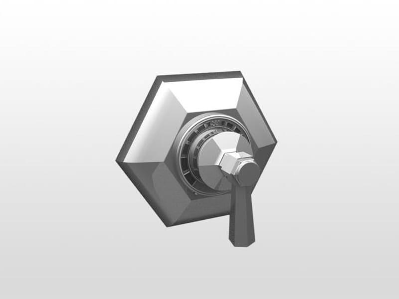 Single handle shower mixer ECCELSA IS3293 by RUBINETTERIE STELLA
