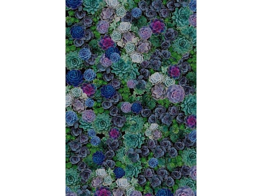 Broadloom printed carpet ECHEVERIA SUCCULENT by Miyabi casa