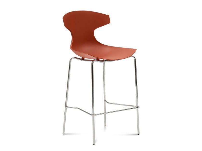 Polypropylene chair ECHO-SG by DOMITALIA