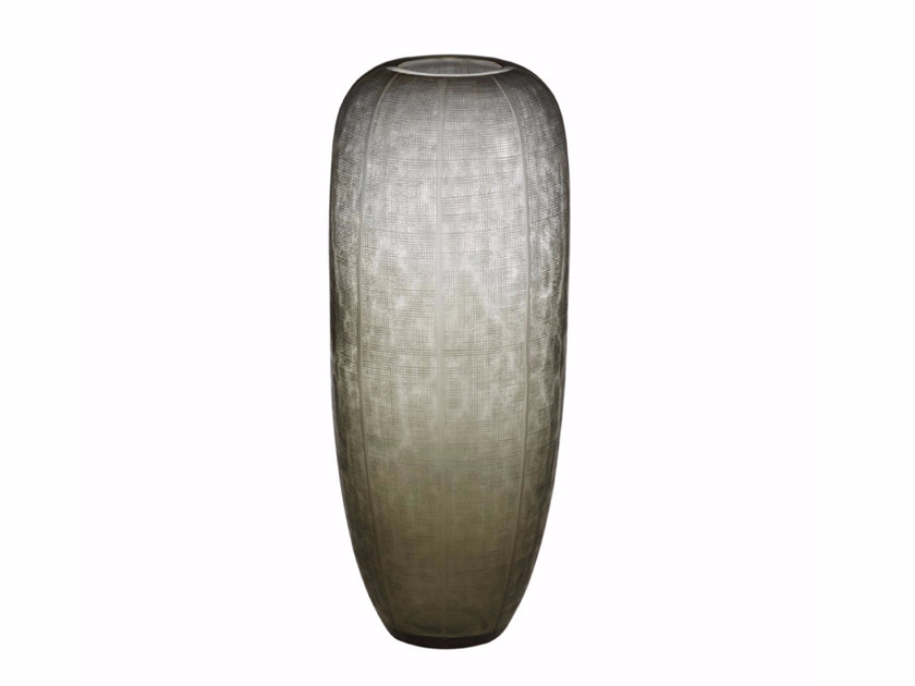 Glass vase ECLAT VASE HAUT by CFOC