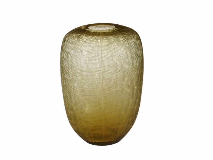 Glass vase ECLAT VASE ROND by CFOC