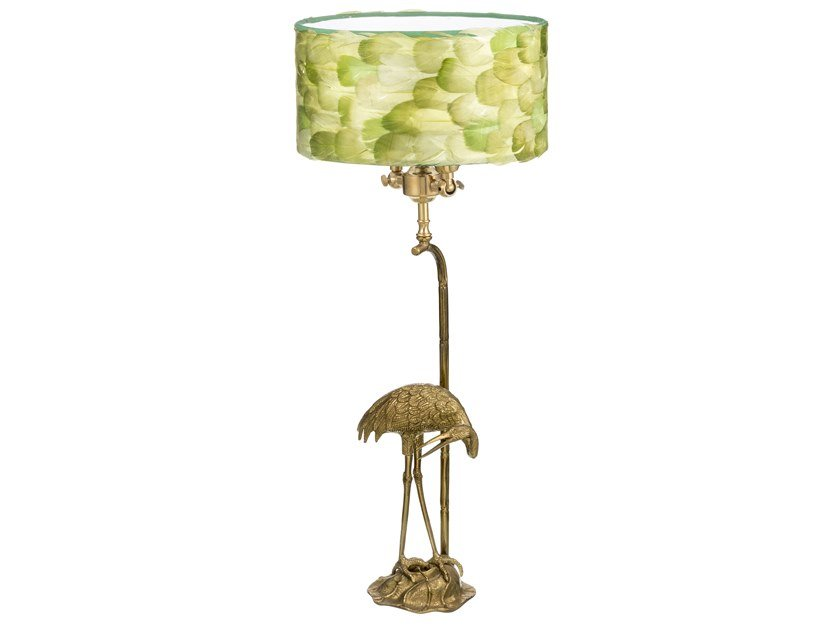 Brass table lamp ECLECTIC FAUNA 05B by Il Bronzetto