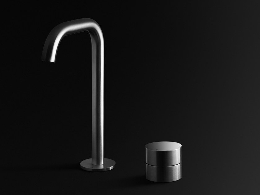 2 hole stainless steel washbasin mixer ECLIPSE | 2 hole washbasin mixer by Boffi