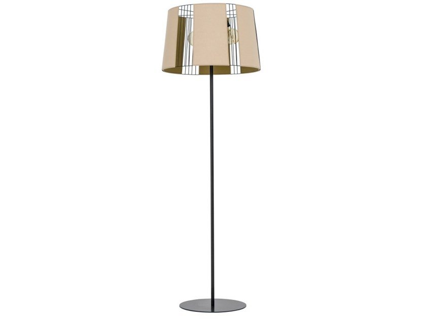 Metal floor lamp ECLIPSE by Flam & Luce