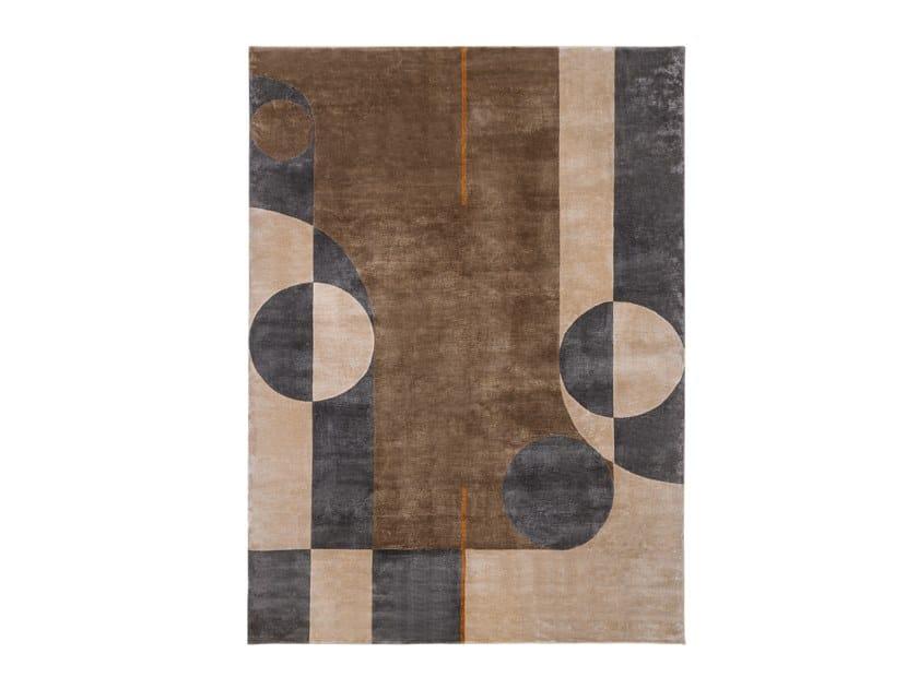 Handmade rectangular rug ECLIPSE | Rug by Turri