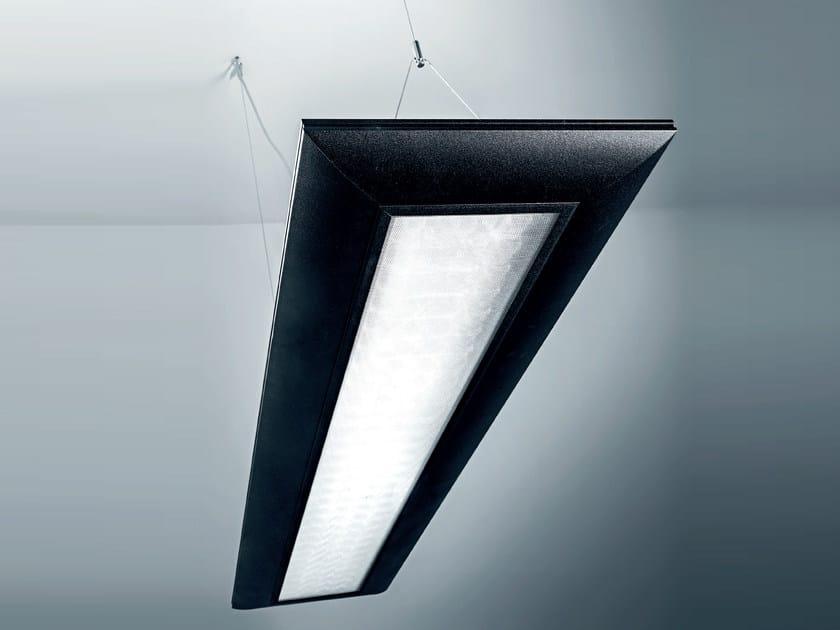 LED aluminium pendant lamp ECLISSE by Plexiform